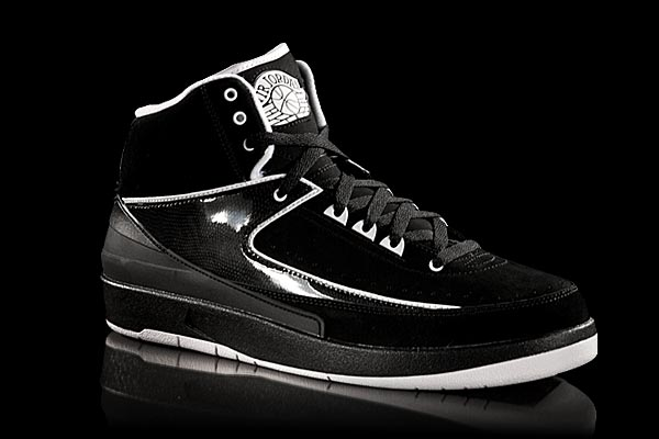 jordan 2 black and white