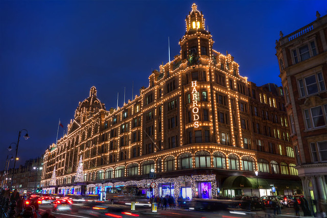 Glowing Harrods
