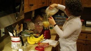 Mom Making Omlets