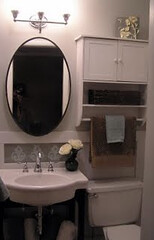 Girly To Grown Up Hollywood Glam Bedroom Tiny Bathroom Redo