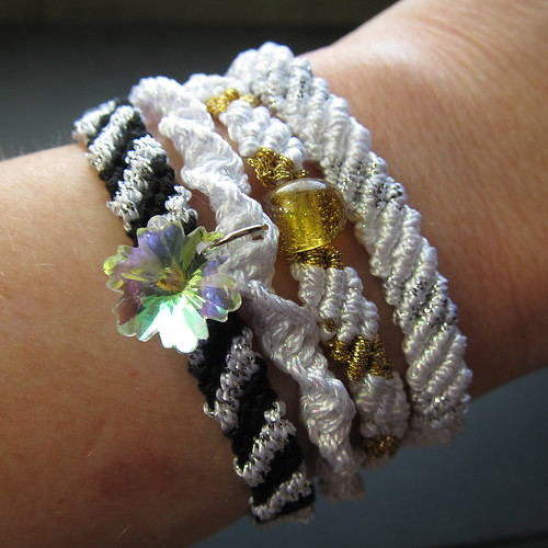 Iron Craft Challenge #52 - Shiny Friendship Bracelets