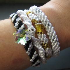 Iron Craft Challenge #52 - Shiny Friendship Bracelets