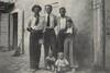 Famiglia Gonella Arcangelo foto del 1949 in Via Braida II Stretti