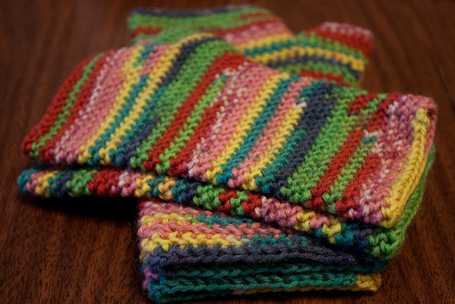 Lollipop Fingerless Handwarmers