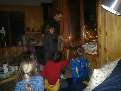 Last night of chanukah led by  Aron by ngoldapple