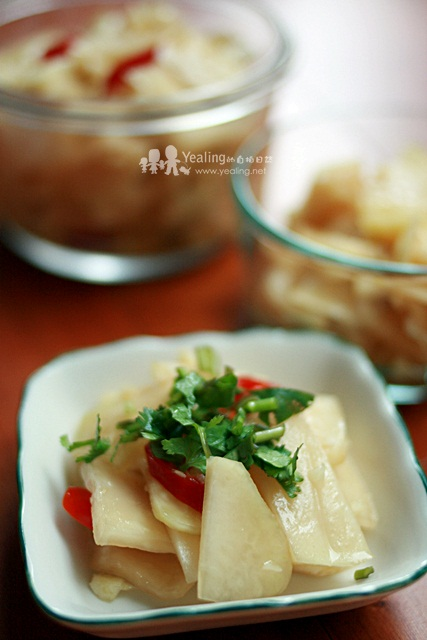 [醃] 蒜辣大頭菜