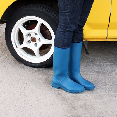 fashionarchitect.net blue rainboots