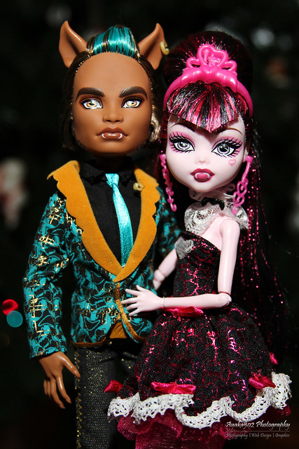 Sweet 1600 Clawd Wolf and Draculaura   Flickr - Photo Sharing!