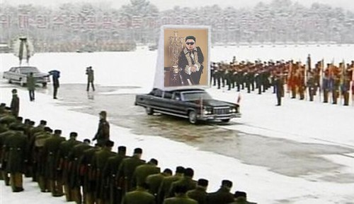 KIM FUNERAL by Colonel Flick
