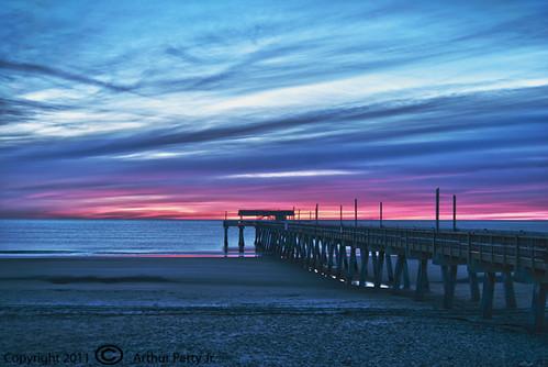 Tybee Island Pier Sunrise #2