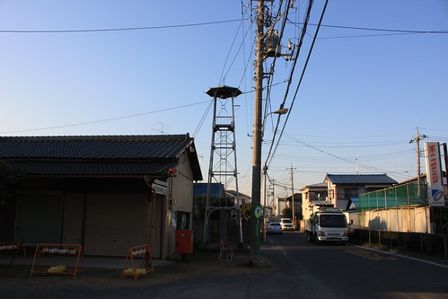 上尾下の火の見櫓(上尾市)