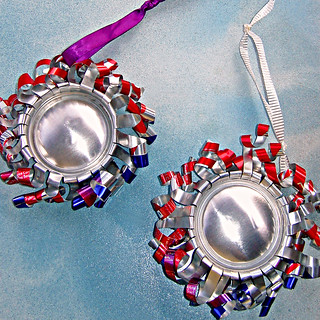 Holiday Ornaments  (reverse side of front)