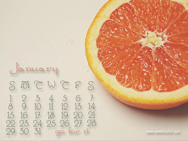 Jan2012 calendar