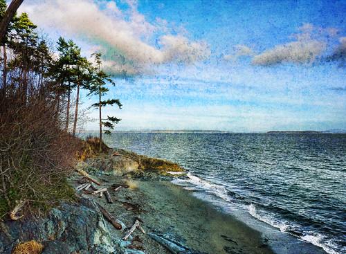 sea canada beach landscape bay bc pacific romance vancouverisland tranquil victoriabc zedzap