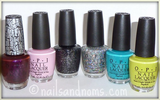 OPI Nicki Minaj Collection Spring 2012