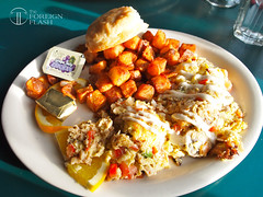 Pike's Place Grill: Crab Meat Omelette