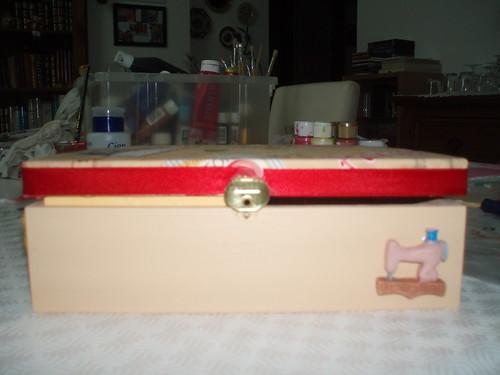 caixa costura - vista de frente - 18 manias