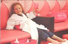Getting pampered! by PrincessKaryn