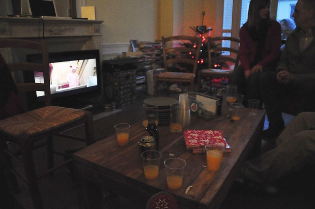 movie, booze, food. merry xmas!