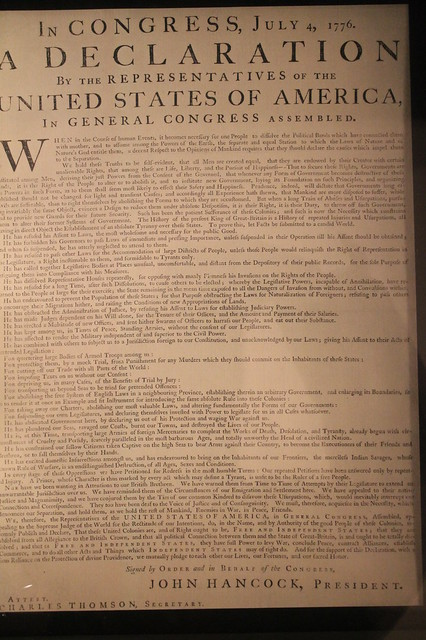 bias in declaration of independence The independence of  the declaration of independence  subjected to close scrutiny of their judicial philosophy as revealing possible political bias  when it.