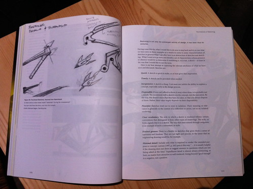 """Sketching User Experiences"" paper book"