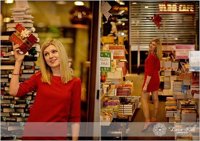 """Kalėdinė fotosesija knygyne """"Pegasas"""""""
