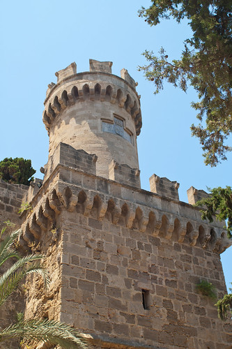 Fortress Tower in Rhodes