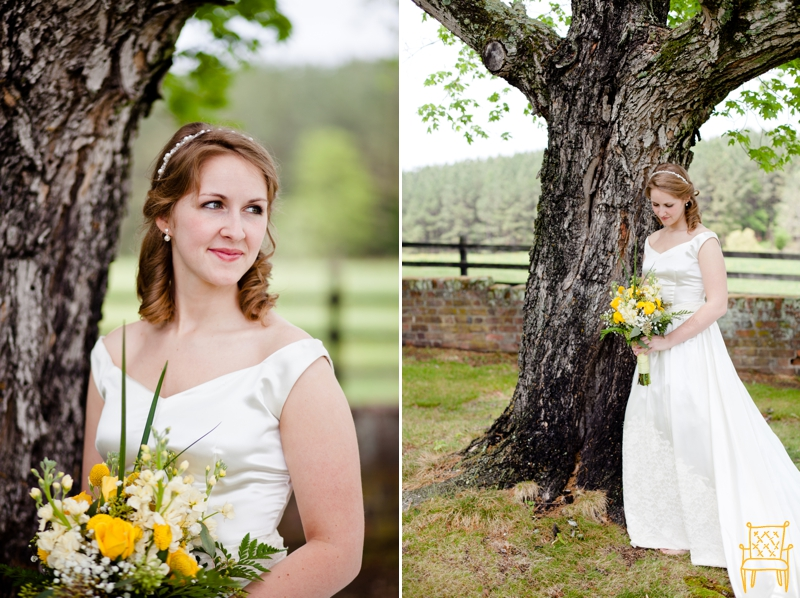 gray and yellow outdoor vintage wedding_023