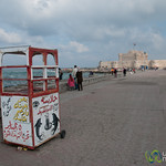 Walkway at Citadel of Qaitbay - Alexandria, Egypt