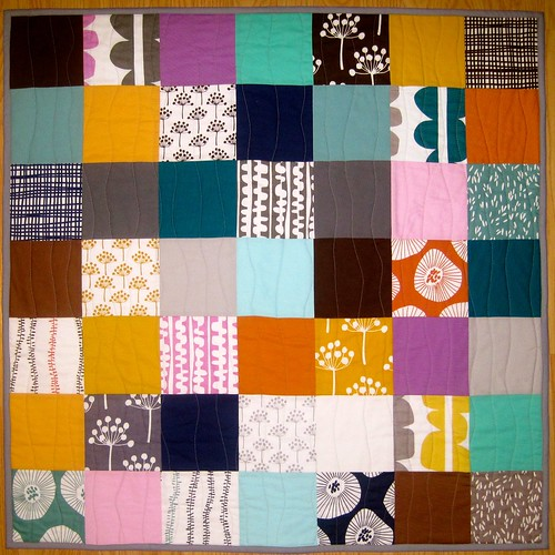 Baby Echo with organic wave quilting