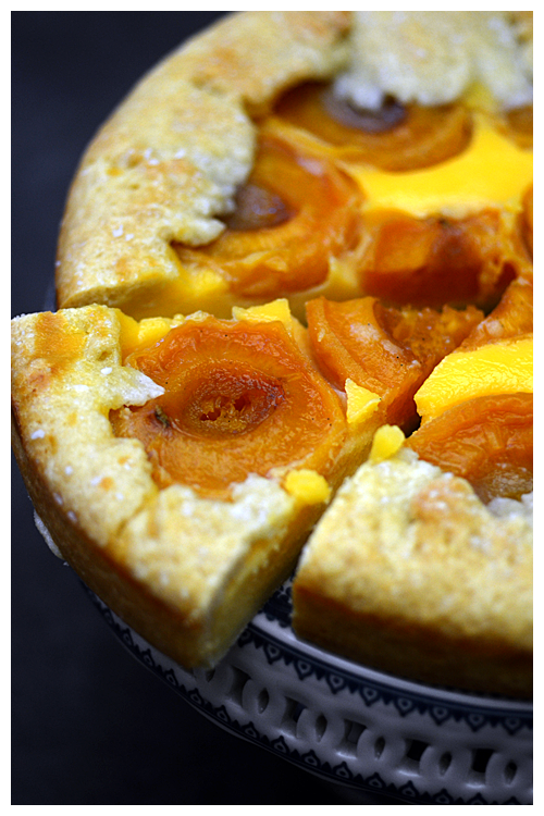 Apricot and Semolina Cream Tart© by Haalo