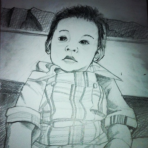 Qeeb's Portrait - pencil practice