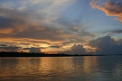 Rio maranon, Pesta de sol en el río Marañón