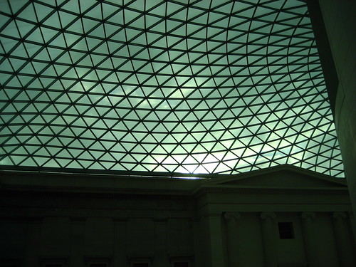The Great Court roof at The British Museum