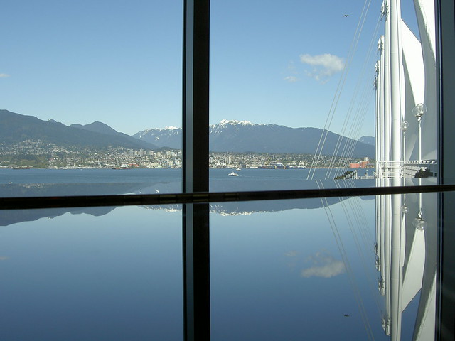 Canada Place Sails Reflection