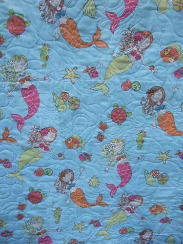 Back of water quilt