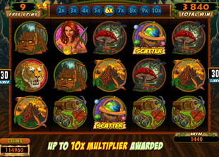 The Grand Journey free spins