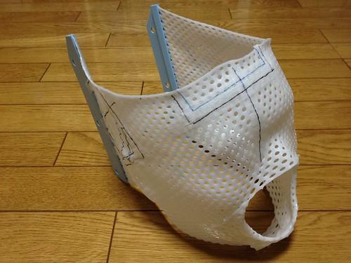 放射線治療の位置決めのマスク