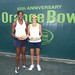 Brady (right) earned a 2nd place finish at the 2011 Orange Bowl Doubles Championships!