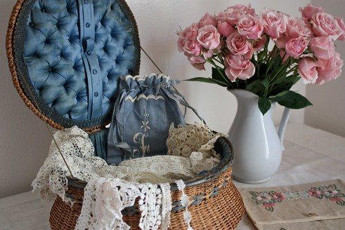 Old Sewing Basket