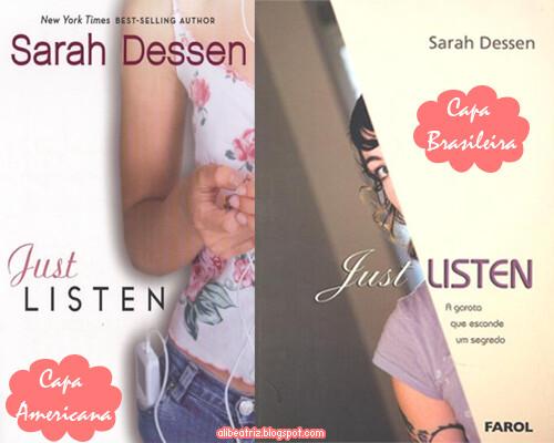 #QueroLer: Just Listen: A Garota que Esconde um Segredo