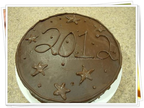 Pastel chocolate tipo Sacher