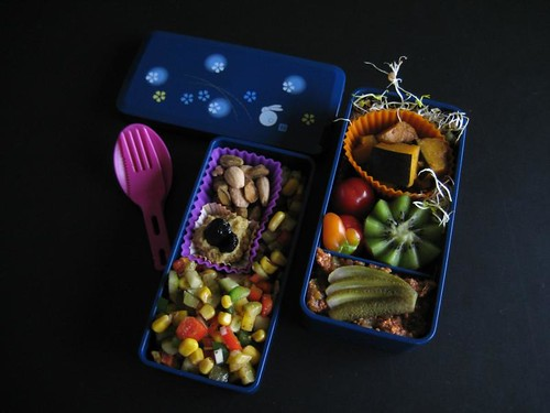 Confetti Bento (1st of the year), 12-01-2012