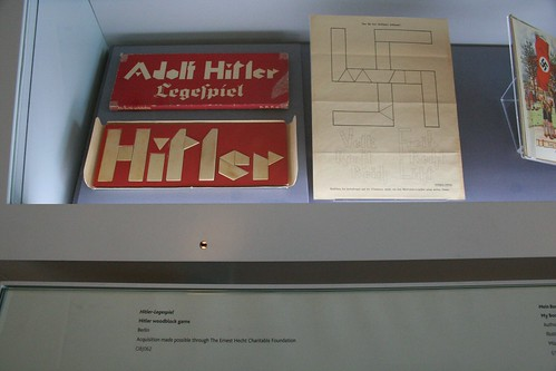 The Adolf Hitler wood block game