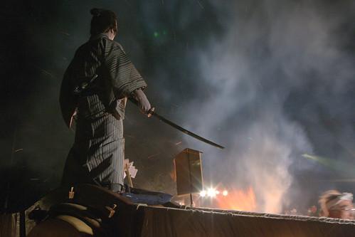 藤木道祖神祭太鼓乗り 平成二四年