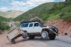 Accident at Joubert Pass, Namibia