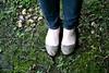 Ballet Flats on Moss