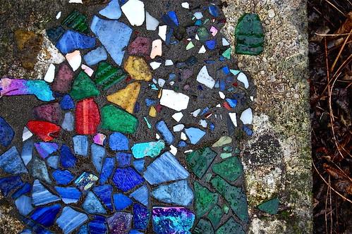 glass stone dirt
