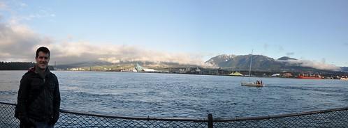 Mountains beyond Vancouver