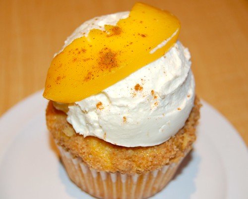Peach Cobbler Cupcake from Molly's Cupcakes